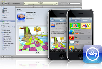 App Store: 10.000 aplicaciones, 300 millones de descargas, Android Market: 462 aplicaciones