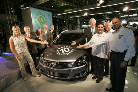El Opel Astra número 10 millones ya ha salido de fábrica
