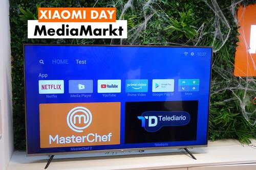 Xiaomi Day: smartphones, televisores, domótica y patinetes rebajadísimos (y con financiación gratis) hoy en MediaMarkt