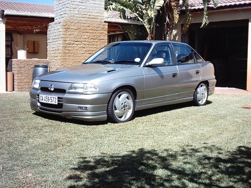 Con motor de Opel Calibra Turbo 4x4. Así eran los Opel Kadett y Astra 200ts sudafricanos
