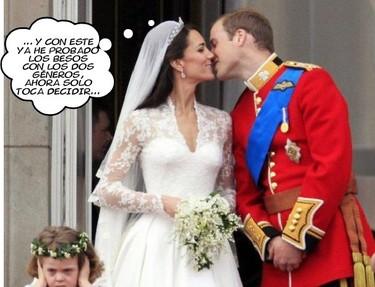 Kate Middleton y sus experiencias lésbico-reales (son como las religiosas pero más intensas)