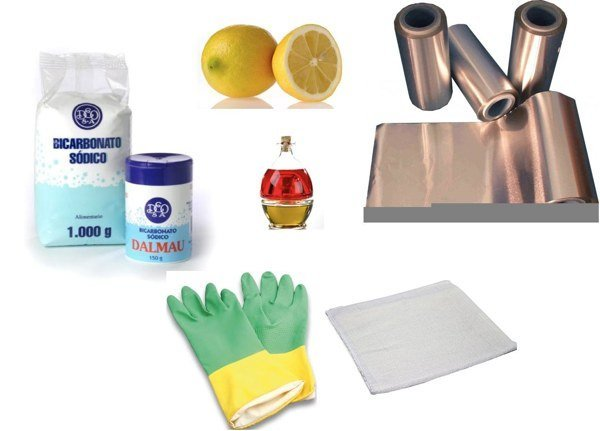 limpiar plata