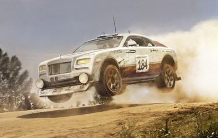 Rolls Royce Wraith Dakar