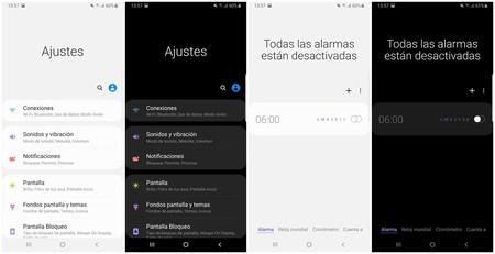 El Modo Oscuro en Samsung One UI