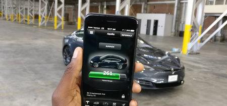Si usas el smartphone para abrir tu Tesla, mejor lleva también la llave si no quieres quedarte tirado