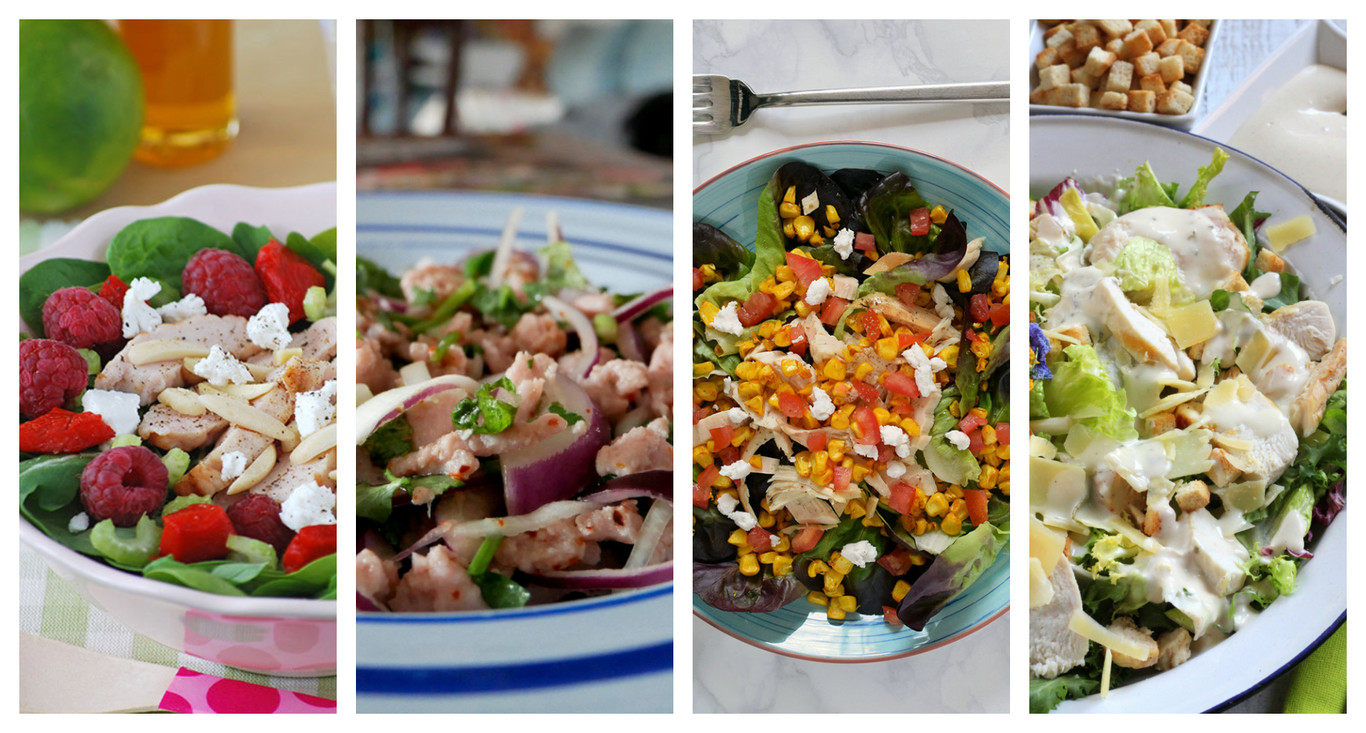 Las 11 Mejores Recetas De Ensalada De Pollo