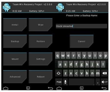 TWRP se actualiza a la versión 2.8 sumando funciones y agregando nuevas resoluciones
