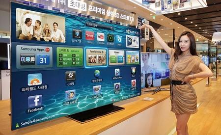 Samsung lanza en Corea una Smart TV de 75 pulgadas, la Samsung ES9000