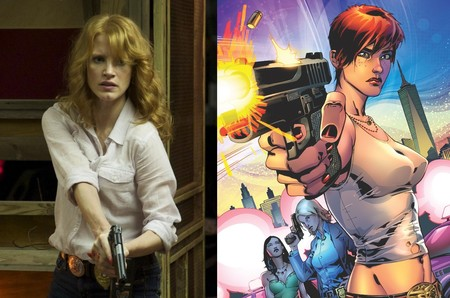 Jessica Chastain será la superheroína Painkiller Jane