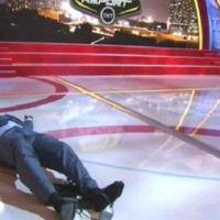 Shaquille O'Neal se cae al suelo y te ofrece 500 dólares por reírte de él