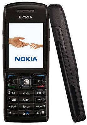Nokia E50 en negro