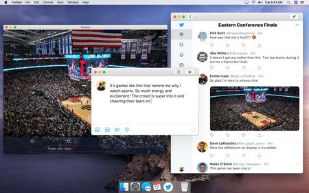 Twitter app para Mac