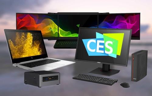 Los ordenadores en el CES 2017: pantallas táctiles y triples, baterías prometedoras y mucho 'gaming'