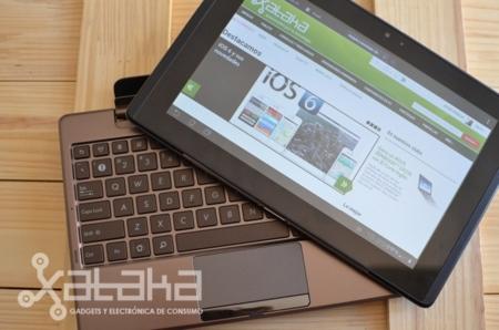 ASUS padfone tablet más teclado