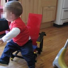 Foto 2 de 3 de la galería red-blue-chair-infantil-y-artesana en Decoesfera