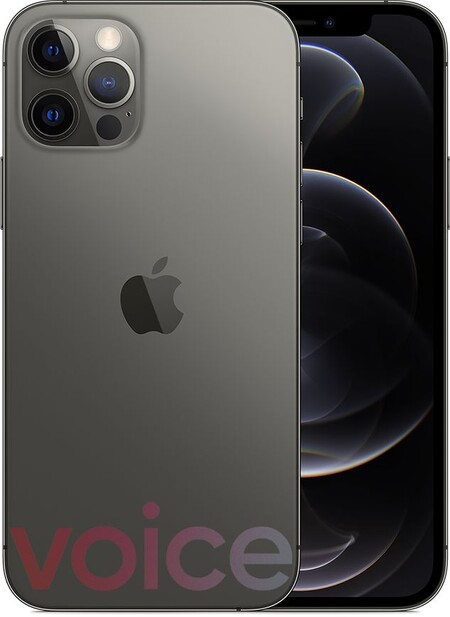 Iphone 12 Pro Oficial Filtración Color Gris