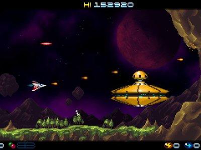 Super Hydorah afina su lanzamiento en Steam y Xbox One. ¡Saldrá este mes!