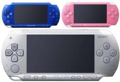 Nuevos colores para PSP estas Navidades