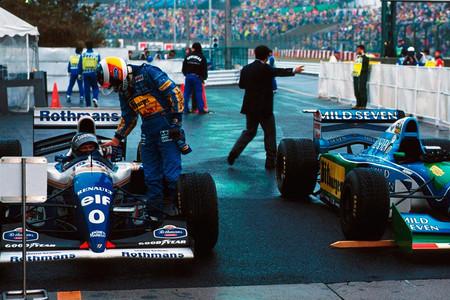 Michael Schumacher y Damon Hill, GP Japón 1994