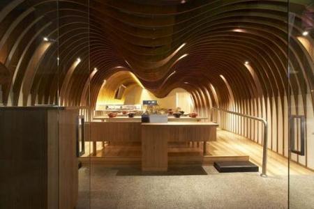 Diseñando la acústica en el Cave Restaurant de Sydney, Australia