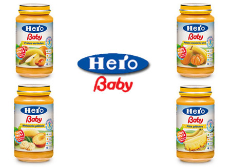 Echamos un vistazo al etiquetado de los productos Hero Baby de 4 meses (I)