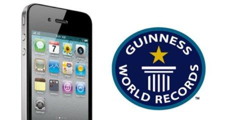 Apple recibe dos premios Guinness por el lanzamiento del iPhone 4 y la App Store