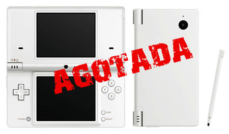 Nintendo DSi se agota en Japón