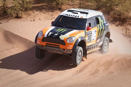 El Dakar 2012 contará con cinco Mini All4 Racing de X-raid