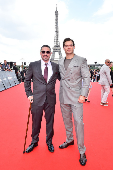 Henry Cavill Mission Impossible Fallout Global Premiere In Paris 3