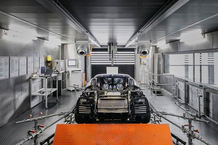 Banco de pruebas Bugatti