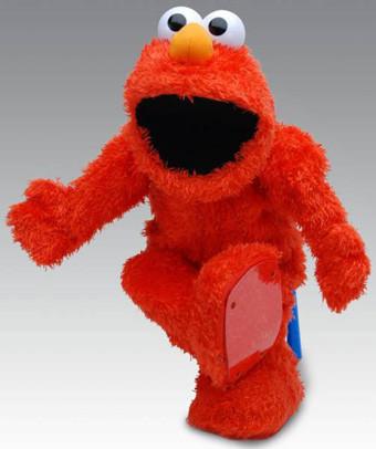 Elmo Live, tiene que haber alguien dentro