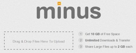 Minus, un servicio que ofrece 10 Gb de almacenamiento gratuito en la nube