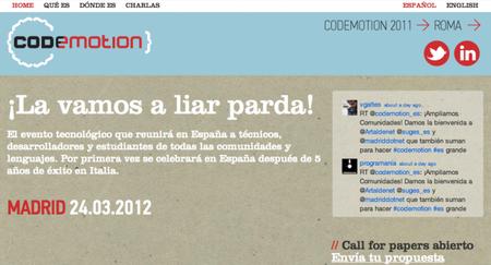 Codemotion, un evento imprescindible que reunirá a diversas comunidades de desarrolladores