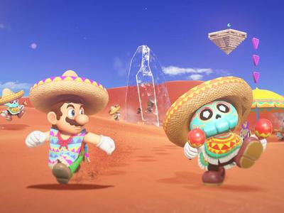 Super Mario Odyssey: casi media hora de gameplay en el Reino de las Arenas con doble ración de Jefazos Finales