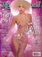 Lady Gaga burbujeante y semidesnuda para Rolling Stone