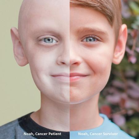 Noah el niño que ha superado el cáncer: mi vida es la prueba