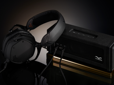 V-Moda Remix, un altavoz inalámbrico con amplificador de auriculares impreso en 3D
