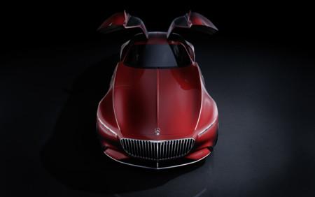 Vision Mercedes-Maybach 6 alas de gaviota