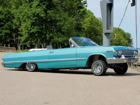 29 09 10 1963 Chevy Impala Lowrider