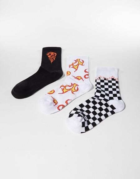 Pack calcetines print