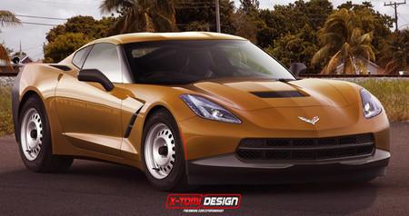 Chevrolet Corvette Stingray básico, por X Tomi