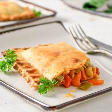 Empanada de verduras, receta fácil para un almuerzo o cena informal