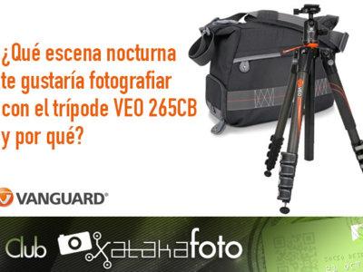 Participa en el concurso del Club Xataka Foto y gana un trípode de carbono y una bolsa de Vanguard