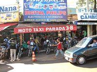 Moto-taxi: una curiosa salida laboral