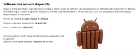 Novedades de Android 4.4.4 (KitKat) llegan al Z1 compact y Z1 en México