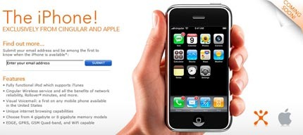 Ya se puede reservar el iPhone en Cingular