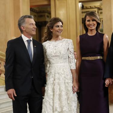 Ivanka Trump eclipsa a su madre Melania en la ópera de Argentina