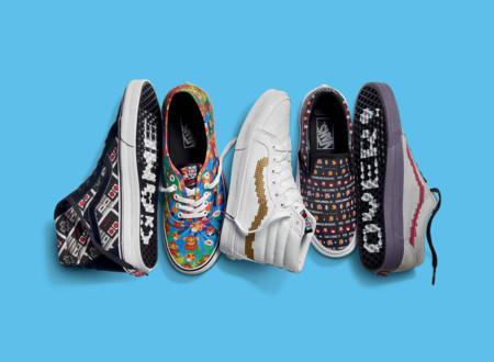 Desde esta semana sal a la calle con Mario y otros personajes de Nintendo con esta colección de zapatillas