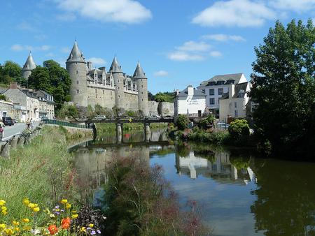 Josselin: pueblo de cuento en la Bretaña