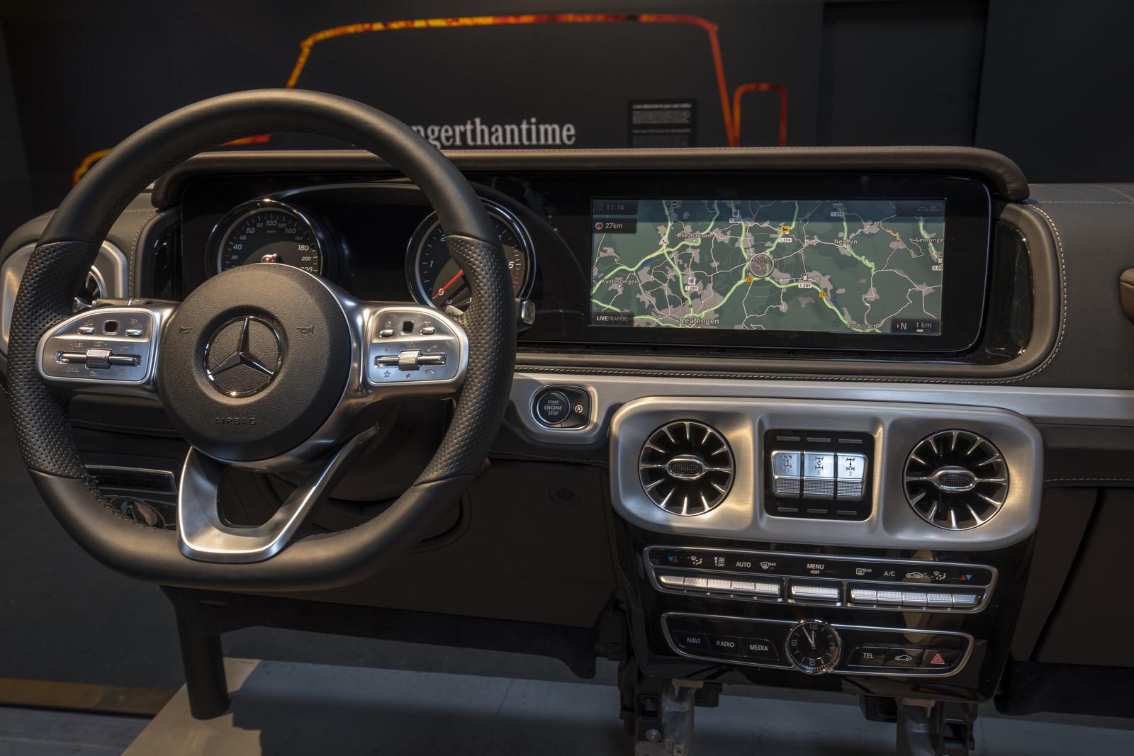Foto de Mercedes-Benz Clase G 2018 - Interior (2/16)